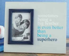BIG BROTHER FRAME SUPERHERO MESSAGE