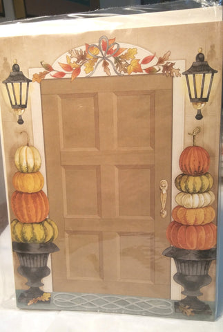 HARVEST DOOR - BLANK STOCK INVITATION