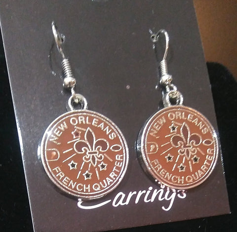 NEW ORLEANS FRENCH QUARTER EARRINGS