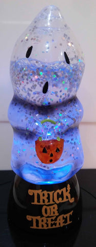 SMALL LIGHT UP GHOST WATER GLOBE