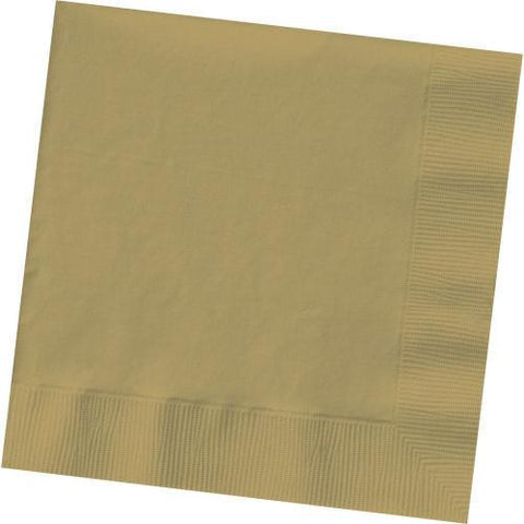 GOLD 3 PLY LUNCHEON NAPKINS