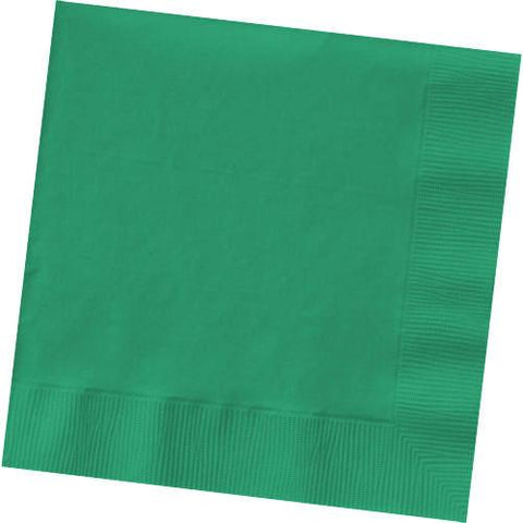 FESTIVE GREEN 3 PLY LUNCHEON NAPKINS