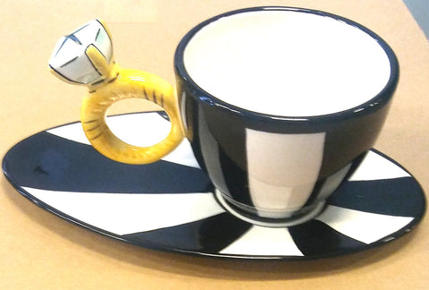 RING CUP AND SAUCER