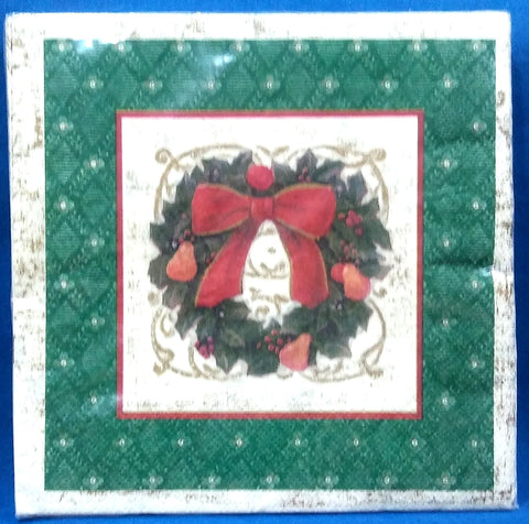 HOLIDAY ELEGANCE PAPER LUNCHEON NAPKINS