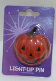 LIGHT UP PUMPKIN PIN