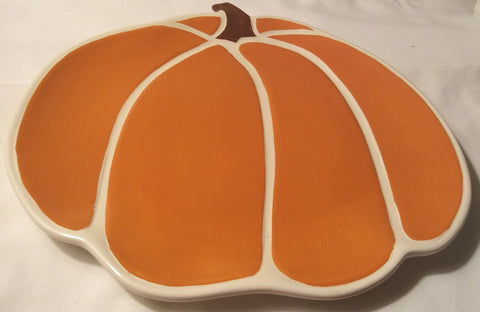 PUMPKIN SHAPED PLATTER
