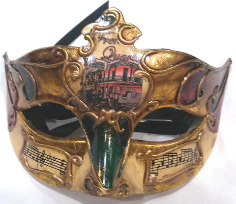 NEW ORLEANS DESIGN MARDI GRAS MASK
