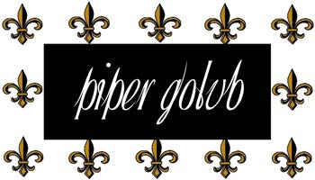 BLACK AND GOLD FLEUR DE LIS (FDL) PERSONALIZED GIFT OR CALLING CARDS