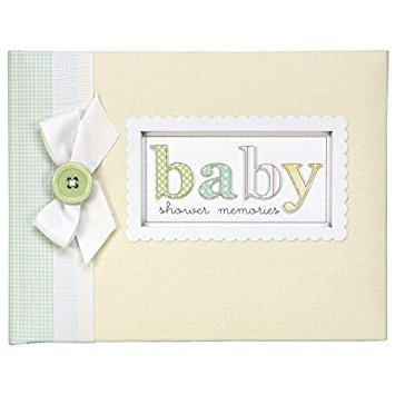 BABY SHOWER GUEST & KEEPSAKE BOOK