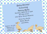 3 AWKWARD DUCKS CUSTOM INVITATION