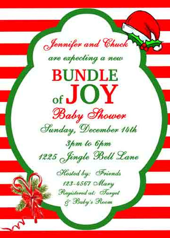 BUNDLE OF JOY CUSTOM INVITATION