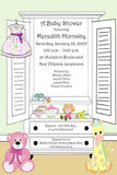 OPEN ARMOIRE CUSTOM INVITATION