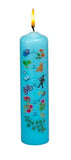 "8"" BIRTHDAY PILLAR CANDLE 1-18 COUNTDOWN"