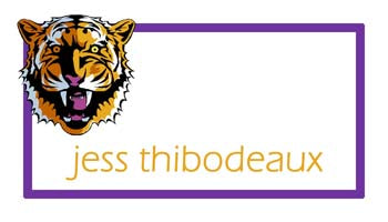 TIGER HEAD PERSONALIZED GIFT OR CALLING CARDS