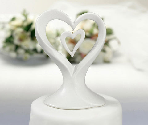HEARTS CAKE TOPPER