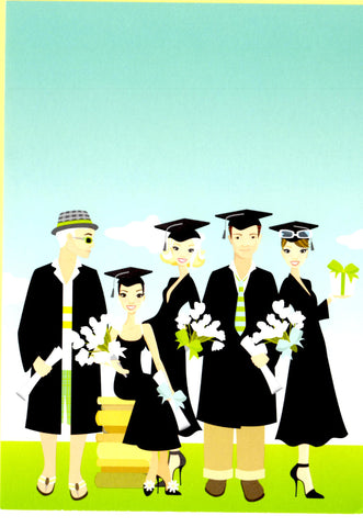 GRADUATION GROUP - BLANK STOCK INVITATION
