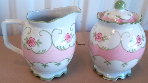 ELOISE CREAM AND SUGAR SET