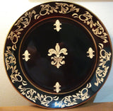 DECORATIVE  BLACK FDL PLATE