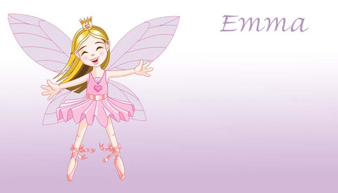 BALLERINA FAIRIES PERSONALIZED GIFT OR CALLING CARDS
