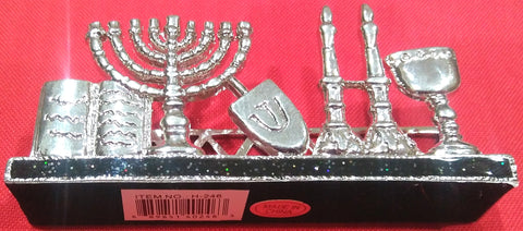 JUDAIC SYMBOLS BUSINESS CARD HOLDER