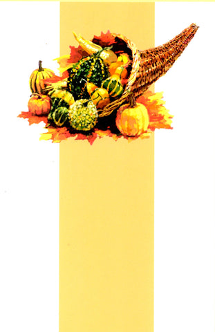 CORNUCOPIA - BLANK STOCK INVITATION