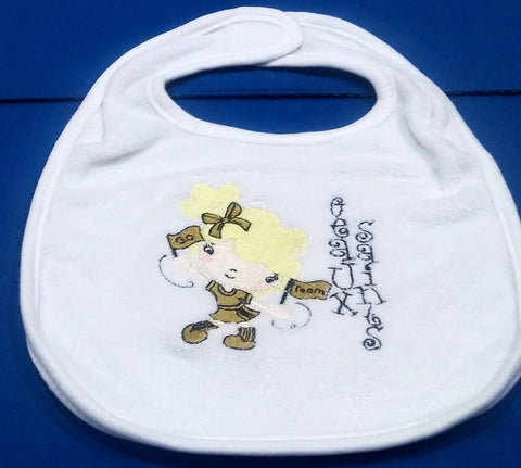 SAINTS CHEERLEADER BIB