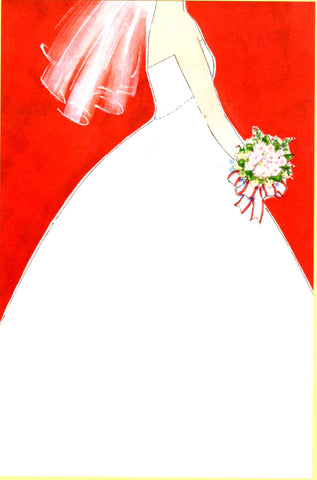 HOLIDAY BRIDE - BLANK STOCK INVITATION