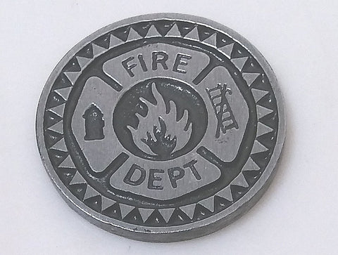 FIRE FIGHTER KEEPSAKE TOKEN