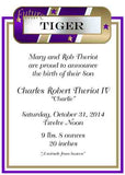 FUTURE WHO DAT FUTURE TIGER CUSTOM INVITATION