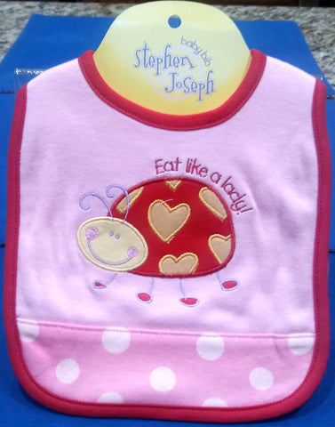 LADY BUG BIB