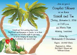 HEART PALMS CUSTOM INVITATION