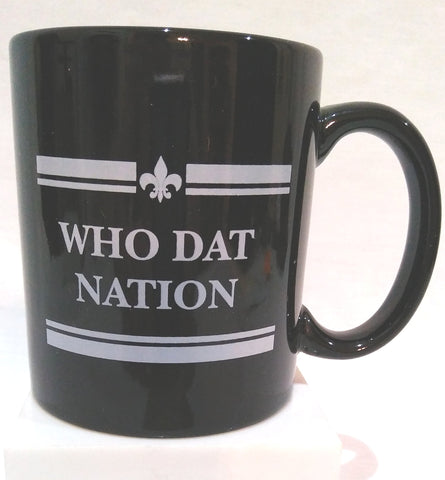 WHO DAT NATION MUG
