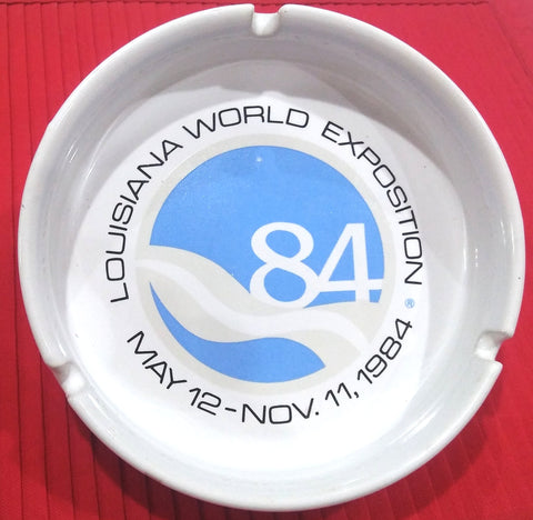 "1984 WORLD'S FAIR 6"" ASHTRAY"