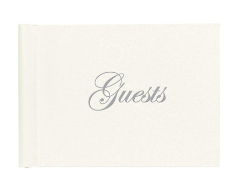 FOIL STAMPED GUEST BOOK