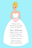 MELISSA BRIDE CUSTOM INVITATION