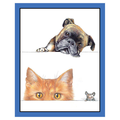CASPARI DOGS AND CATS BRIDGE TALLIES