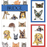 CASPARI DOGS AND CATS BRIDGE GIFT SET