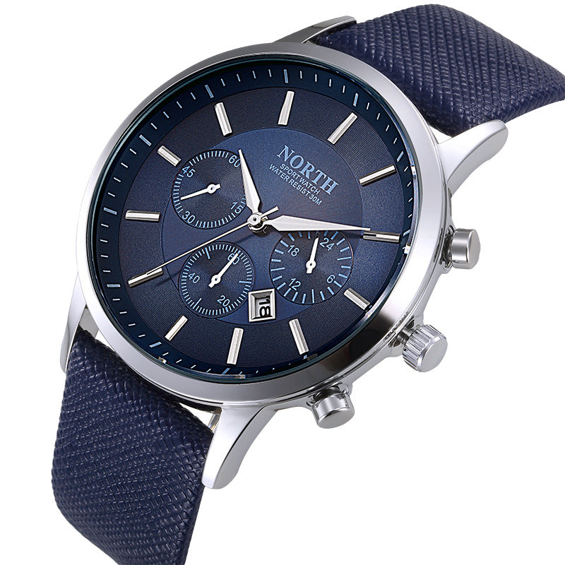 North Luxury Men Watches Wristwatch