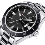 8110 Casual Stainless Steel Watch