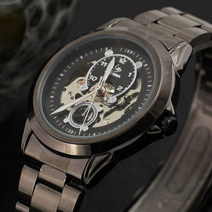 Titanium Design Skeleton Watch