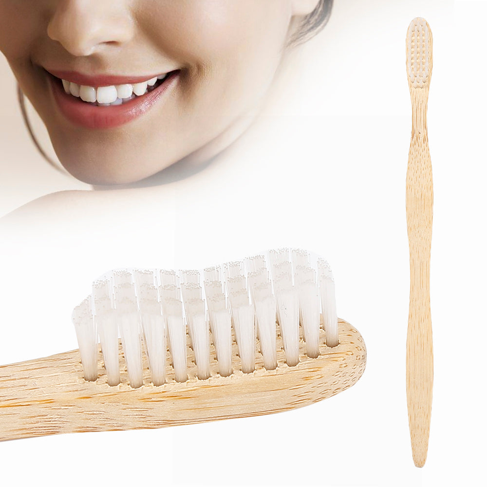 The Bamboo Wave Brush - The Wooden Toothbrush Shop