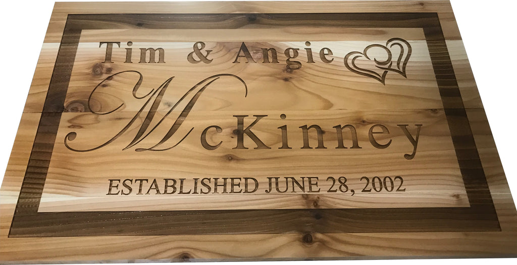 Him And Her Wedding Gifts: Personalized Wedding Gift, Custom Engagement Gift