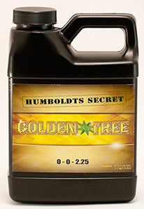 Best Plant Food For Plants and Trees: Humboldts Secret Golden Tree, Explosive Growth, Yield Increaser, Dying Plant Rescuer, Use on Flowers, Roses, Fruit, Vegetables, Tomatoes, Organic (8 Ounce) - Farm Nevada - Gardeners Start Here