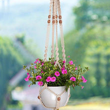 3 Set Plant Hanger Flower Pot Plant Holder 4 Legs 48 Inches 39.4 Inches and 34 Inches, 3 Sizes - Farm Nevada - Gardeners Start Here