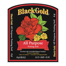 Black Gold 1310102 8-Quart All Purpose Potting Soil With Control - Farm Nevada - Gardeners Start Here