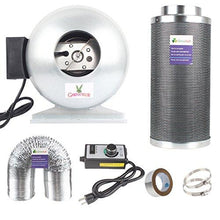 4 Inch Inline Fan Carbon Filter Combo With Fans Speed Controller and 25-Feet-Grow Ducting for Grow Tent Exhanst Kit - Farm Nevada - Gardeners Start Here