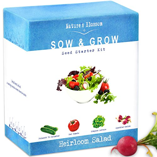 Organic Vegetables Grow Kit (Grow Your Own Salad!!!) - Farm Nevada - Gardeners Start Here