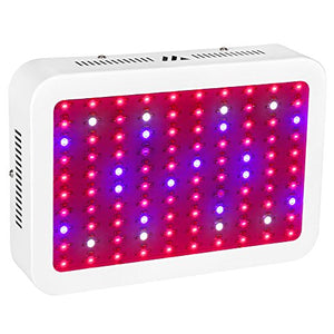 LED Grow Light Full Spectrum, Dimgogo 1200W Double Chips Grow Lamp with UV and IR for Greenhouse Hydroponic Indoor Plants Veg and Flower(10w X 120PCS LEDS) - Farm Nevada - Gardeners Start Here