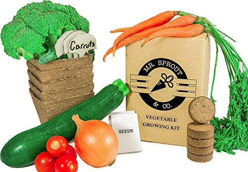 Organic Vegetable Growing Kit - Farm Nevada - Gardeners Start Here