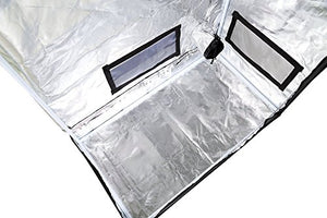 "Hydroponic Water-Resistant Grow Tent with Removable Floor Tray for Indoor Seedling Plant Growing 36""x20""x62"" - Farm Nevada - Gardeners Start Here"
